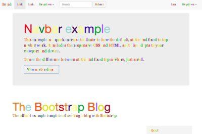 Grapheme Theme – Bootstrap